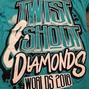 Twist & Shout Diamonds Worlds 2018 Shirt